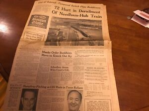 THE BOSTON GLOBE EVENING NEWSPAPER APRIL 11 1966