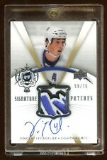 2007 THE CUP VINCENT LECAVALIER AUTO PATCH LOGO /75  SICK PATCH FROM TEAM LOGO