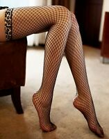 Women Foreplay Sexy Leopard Trim Net Fishnet Stockings Long thigh high socks