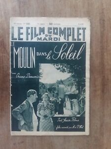 Rivista Film il Mulino Sole Arancione Demaris 1939*