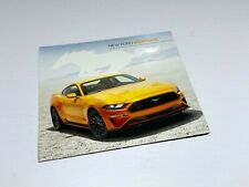 2017 Ford Mustang Preview Brochure