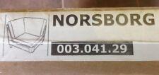 IKEA NORSBORG Bezug Eckelement Finnsta rot 003.041.29 Neu OVP