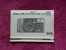 Bedienungsanleitung Nikon TW Zoom 85 Fotoapparat