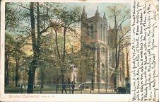 Bristol cathedral; peacocks 1903