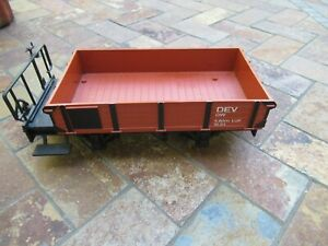 "Vintage LGB ""G"" Scale Freight Flat Bed Car"
