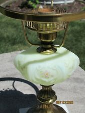 Fenton Poppy Hand Painted Student Lamp Base only