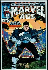 Marvel Comics MARVEL AGE #51 The Punisher VFN/NM 9.0