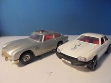 Corgi Toys Cars Lote/colección, c1978, Aston Martin & Jaguar, 1/36