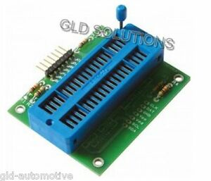 SCHEDA DI ESPANSIONE TEXTOOL PER PROGRAMMATORE PIC FT650 in circuit USB