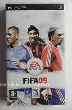 Jeu FIFA 09 playstation PSP sony game francais foot football 2009 sport spiel