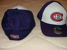 Montreal Canadiens New Era Hat Cap 39Thirty L/XL Deboss