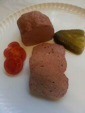 (12,98€/kg)1 Kg Wildschwein Fleischkäse gebacken, Wild, Wildfleisch
