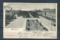Tolle Ansichtskarte Hannover Herrenhäuser Allee