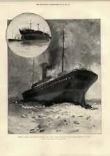 1897 IL COLERA A BORDO NAVE DA TRASPORTO TRUPPE Plymouth NUBIA MASSACRO Benin