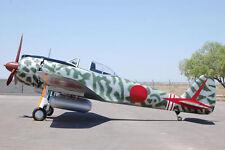 1/7 Scale Royal Japanese WW-II Nakajima Ki-43 Oscar Plans,Templates,Instructions