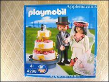 NIB/NEW/SEALED Playmobil 4298 Bride and Groom - Bridal Couple with Wedding Cake