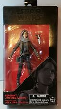 "STAR WARS ""The Black Series"" Sergeant Jyn Erso (Jedha) #22 Hasbro 6"" 2016"