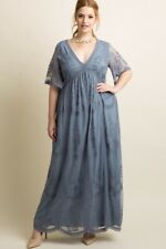 Maternity Three Seasons Surplice  Solid Dress Plus Size 1X NWT