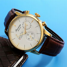 FORSINING Automatic Mechanical Watch Men's Business Wristwatch Leather Band