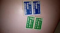 BP Petroleum/Car stickers/decal Vintage BP Motor Oil,Super visco-static,old