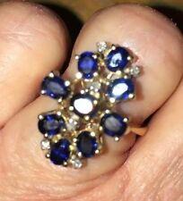 Diamond Handmade Sapphire Fine Rings