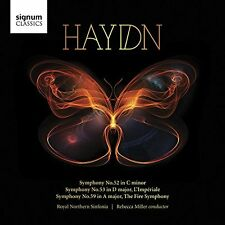 Royal Northern Sinfonia - Haydn Symphonies Nos 52 53 and 59 [CD]