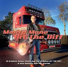 Marty Mone Hit The Diff CD Album - Irish Country Music 2015 Trucking Tang