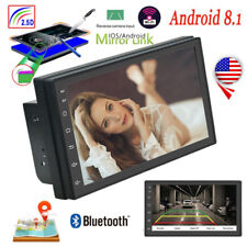 2Din Car Stereo Radio 7'' Touch Screen Android 8.1 GPS WIFI Bluetooth MP5 Player