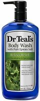Dr Teal's Body Wash, Relax - Relief with Eucalyptus - Spearmint 24 oz (3 pack)