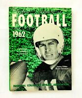 1962 NCAA Official Collegiate College Football Record Book Sonny Gibbs Cover