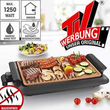 GOURMETmaxx Beef Elektro Grill BBQ Balkon Garten Tischgrill Innen & Außen 220°C