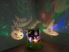 Halloween Spook Master Projector Lights/Pumpkin/Witches/Bats/Spider