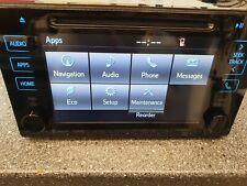 Toyota TACOMA / SIENNA Navigation GPS Radio CD  ENTUNE PREMIUM 16-19