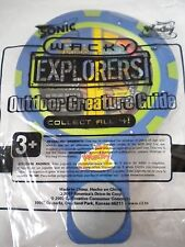 Outdoor Creature Guide Wacky Explorers SONIC Wacky Pack Toy 2007 Educational NEW