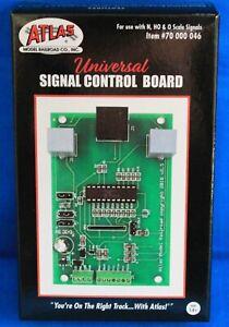 N/HO/O Scale - ATLAS 70 000 046 UNIVERSAL SIGNAL CONTROL BOARD