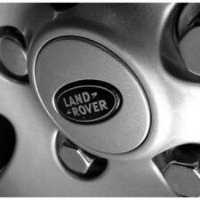 4x 63mm LAND ROVER ALLOY WHEEL CENTRE HUB CAPS FOR LR2, LR3, LR4 DISCOVERY Black