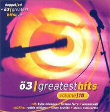 Ö3-Greatest Hits 18 (incl. ö3 Greatest Hits Live) Kylie Minogue, Sophie... [2 CD]