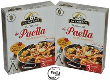 Paella Seasoning & Saffron x 2 , Paella Spices , Paella Mix  , 3 x 3g Sachets