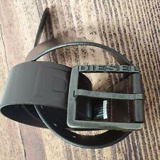 Diesel Men's Belt Paldo Brown Size 80 32 Accessories Leather Extra Tough  X06830