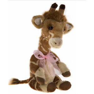 Stretch, a 14 inch Giraffe from the 2017 Charlie Bears Collection