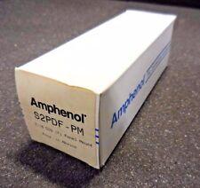 Amphenol S2PDF-PM 7/16 Din (F) Panel Mount TXL Connector