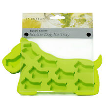 Epicurean Green Scottie Dog Silicone Ice Cube Tray Maker Mould Chocolate Novelty