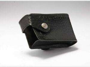 Medtronic MiniMed Genuine Leather Pump Case Holster Black Crocodile Pattern