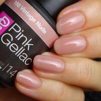 166 Vintage Nude Rosa Shellac Polish Nagellack 15 ml  UV LED Gel Pink Gellac NEU