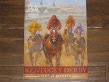 2018--New 144th Kentucky Derby Program (Justify)