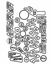 WATERSLIDE decals for the main inserts of the FUNHOUSE
