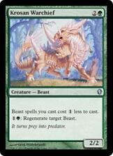 KROSAN WARCHIEF Commander 2013 MTG Green Creature — Beast Unc