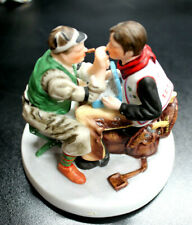 Norman Rockwell Figurine By Gorham 1988 Limited Numbered Also 2 Other Figurines