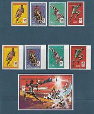 Comores république  jeux olympiques été 1988  poste  PA  BF  **