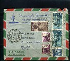 FABRICA FISARMONICHE, ''FONTANELL'' >> cover,  ITALIA TO NEW YORK  U.S.A.   1950